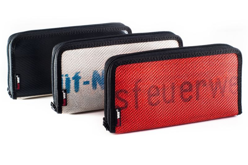 Women's wallet Alan made of robust fire hose