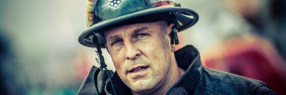 Fire fighter portrait
