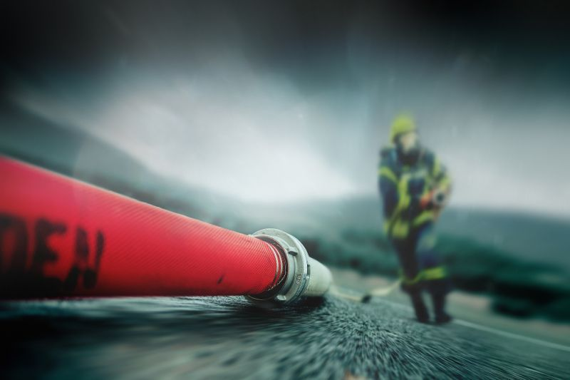 Our Material: recycled fire hose